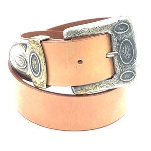 Donna Katz Genuine Bonded Leather Belt Sz S/M